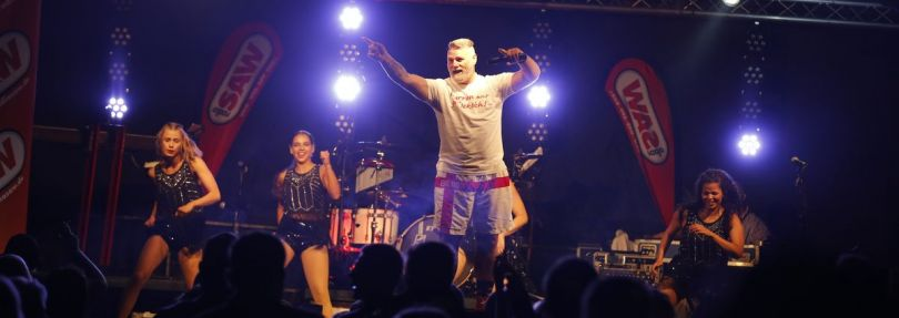Warren Green auf der radio SAW Party Möckeraner Sommernacht 2021