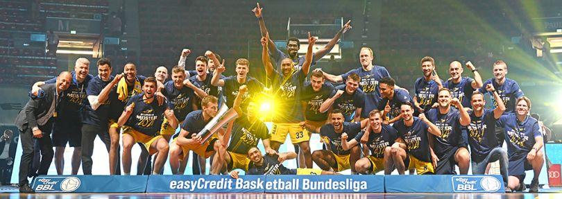 Alba Berlin ist Deutscher Basketball-Meister