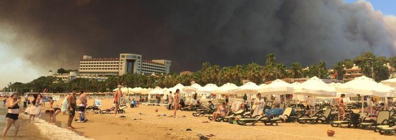 Waldbrände Antalya