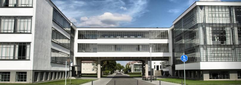 Weltkulturerbe bauhaus dessau radio saw for Bauhaus architektur heute