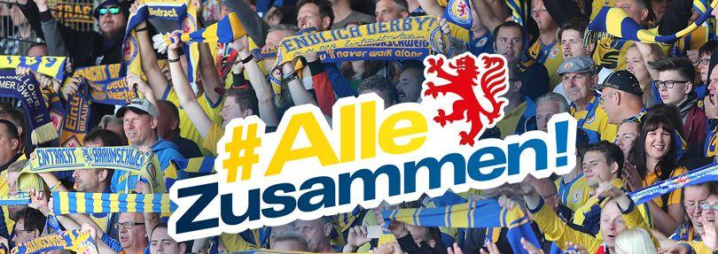 Eintracht Braunschweig: #AlleZusammen