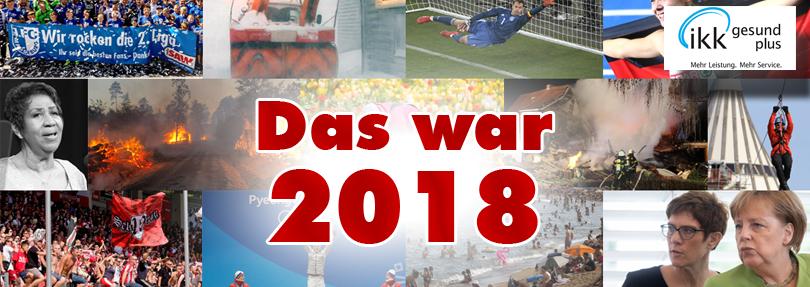 Jahresrückblick 2018 - Jahresausblick 2019
