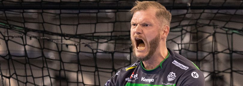 Handball-Nationaltorwart Johannes Bitter