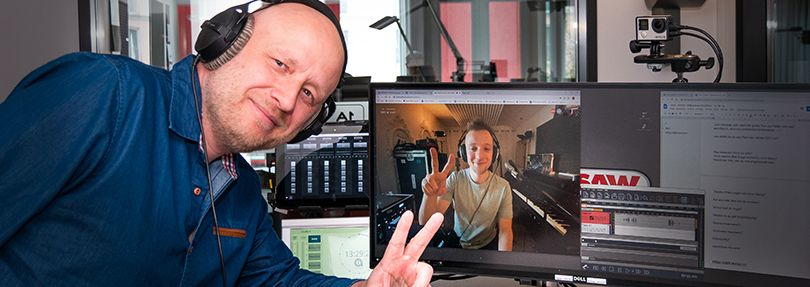 Joris und Ingolf Kloss im Interview