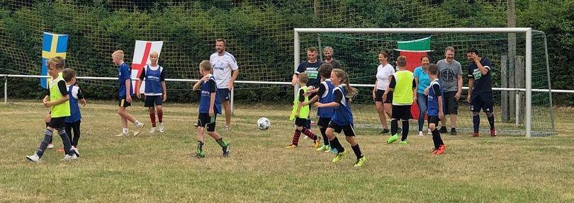 Junior Soccer Camp Bad Bibra