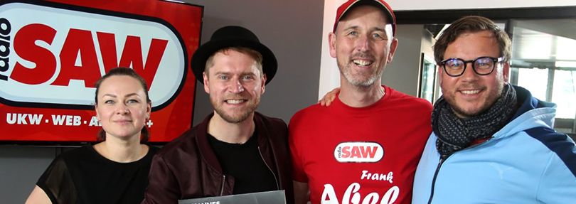 Johannes Oerding, radio SAW Muckefucks