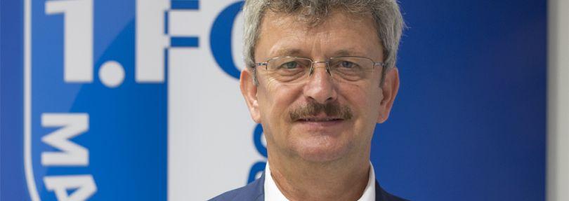 Peter Fechner, Präsident des 1. FC Magdeburg
