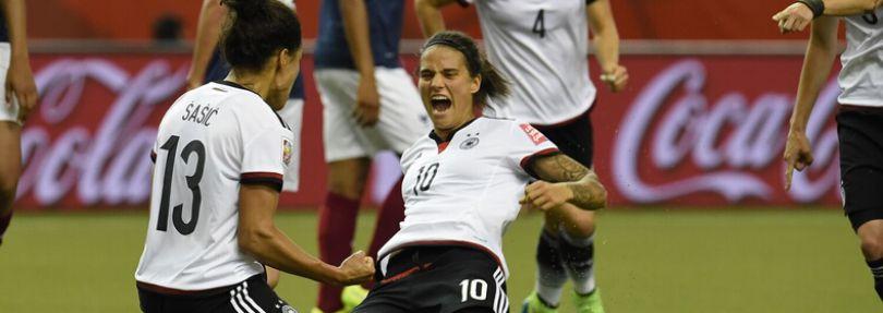Deutschland siegt gegen Frankreich