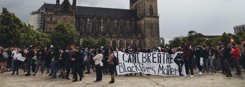 Black Lives Matter Demo in Magdeburg