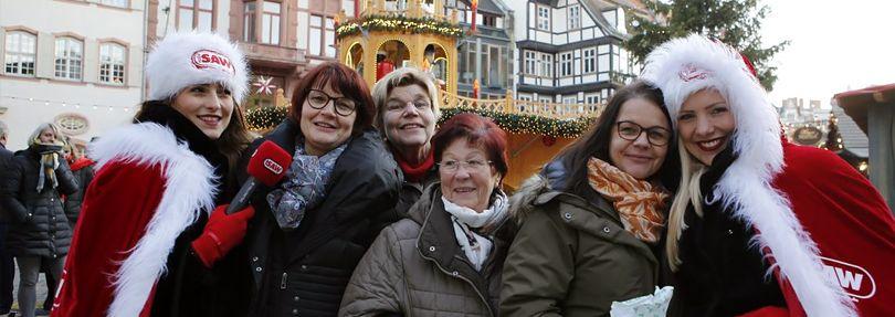 Weihnachtsengel in Quedlinburg
