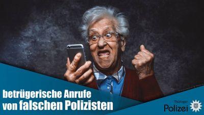 Falsche Polizisten am Telefon
