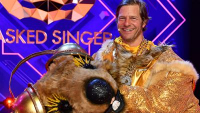 Henning Baum in der Show The Masked Singer