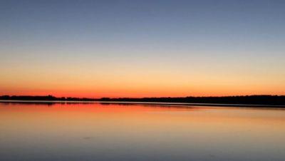 Sonnenuntergang am Arendsee