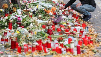 Gedenken an die Opfer vom Attentat in Halle