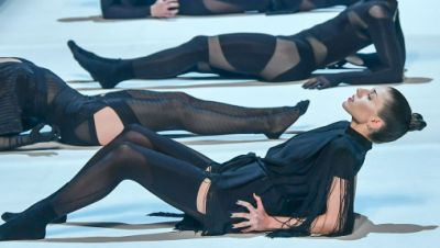 Tanzchoreografie auf der Fashion Week