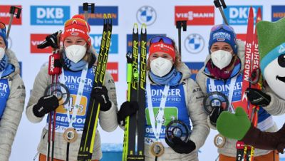 Deutsche Damen-Biathlon Staffel