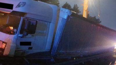 LKW-Unfall heute morgen auf A 2
