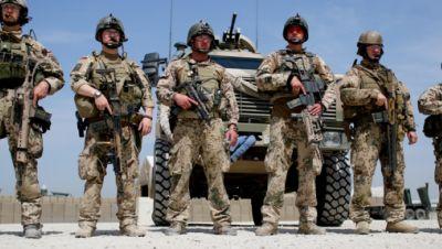Afghanistan, Kundus: Soldaten der Bundeswehr