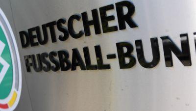DFB-Logo und Schriftzug