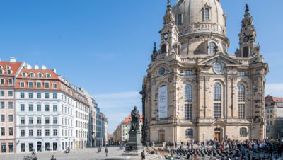Dresden Frauenkirche Protest
