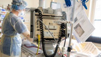 Beispielbild: Intensivstation mit Behandlungsbett