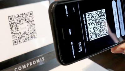 QR-Code der Luca-App