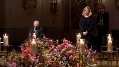 Gedenkfeier für die Opfer der Corona-Pandemie