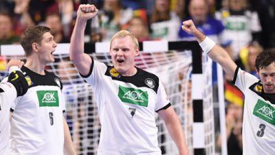 Handball-WM: Deutschland-Island
