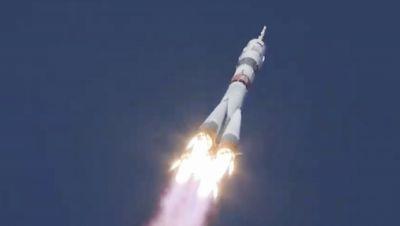 Auf dem Weg zur ISS