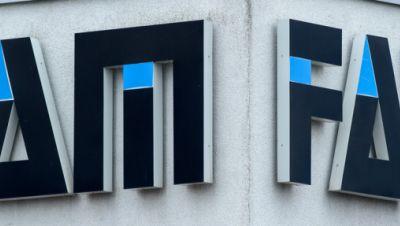 «FAM» steht an der Fassade eines Werkgebäudes des Anlagenbauers FAM