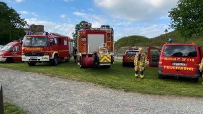 Feuerwehreinsatz Blankenburg