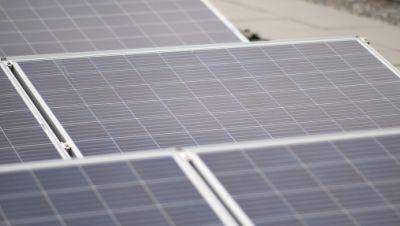 Photovoltaikanlage auf dem Gebäude 3 der Hochschule Reutlingen