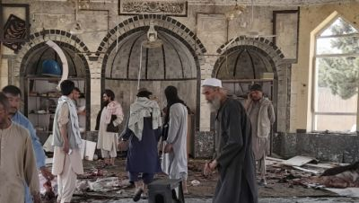 Explosion in Moschee in Afghanistan