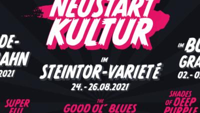 Plakat Kulturneustart Halle