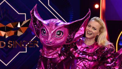 """Franziska Knuppe bei """"The Masked Singer"""""""