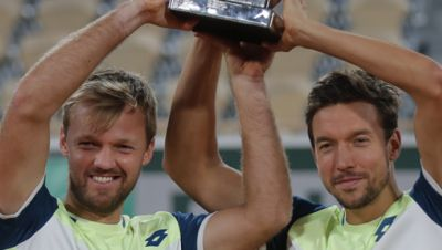 French Open-Gewinner: Krawietz/Mies