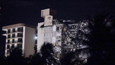 Gebäude-Einsturz nahe Miami Beach