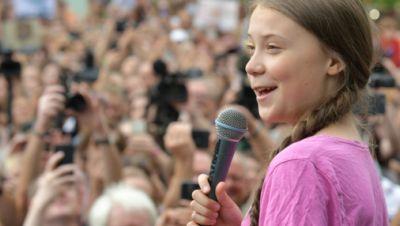 Symbolbild: Greta Thunberg 2019 in Berlin