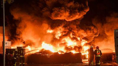 Ballenstedt in Flammen