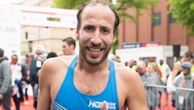 Hamburg Marathon, Frank Schauer