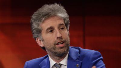 Dieses vom WDR zur Verfügung gestellte Foto zeigt Boris Palmer (Grüne), Tübinger Oberbürgermeister in der ARD-Sendung «Hart aber fair» zum Thema «Welt im Klimawandel: Wieviel können wir selbst tun?»