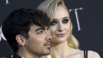 Sänger Joe Jonas und Sophie Turner, Schauspielerin