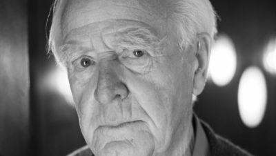 John le Carre, britischer Schriftsteller und Spionageexperte