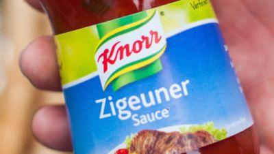 Flasche «Zigeunersauce» des Herrstellers Knorr