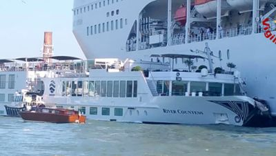Schiffsunfall Venedig