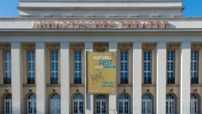 Anhaltisches Theater in Dessau-Roßlau - Außenansicht