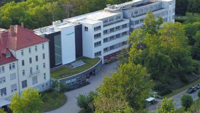 Luftaufnahme der Lungenklinik Ballenstedt im Harz