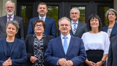 Neue Regierung Sachsen-Anhalts