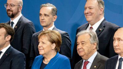 Gruppenfoto mit Angela Merkel - Libyen-Gipfel