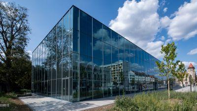 Das neue Bauhaus-Museum in Dessau